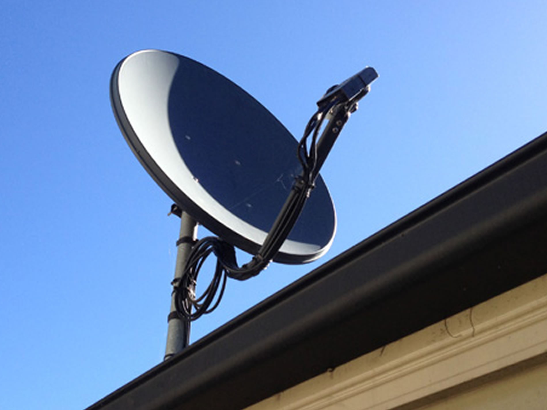 c-band k-band Satellite dish installation gold coast