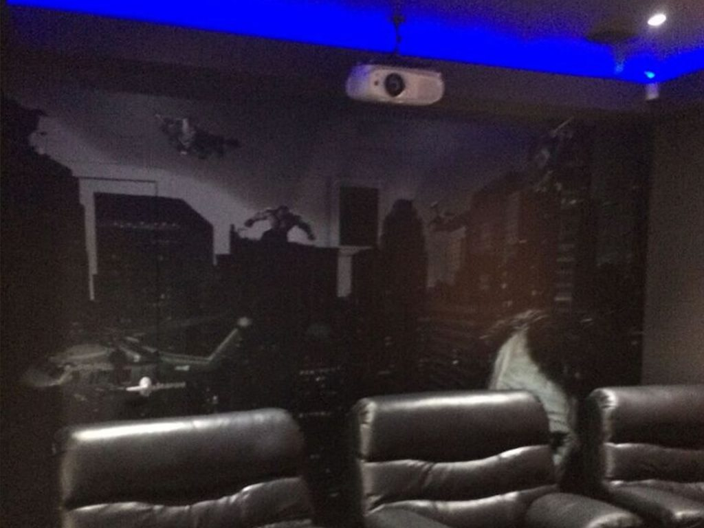 home theatre cinema projector ceiling mounting gold coast
