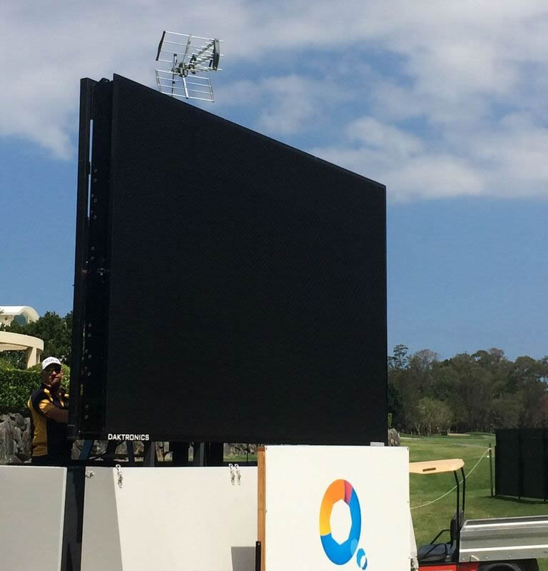 outdoor TV Gold Coast